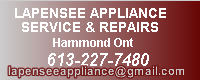 Lapensee Appliance Service & Repairs